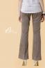 標準剪接造型美腿托腹長褲 2