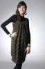 彈性棉格紋孕婦背心裙 1