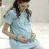 包袖格紋上開式孕婦上衣 3