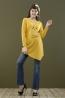 時尚想念長版孕婦棉T 2