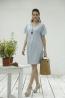 加大版型高雅孕婦洋裝 1