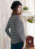 連綴圍巾條紋款式孕婦上衣 3