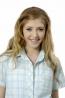 青春水漾中腰格紋綁帶襯衫開襟領長版棉質上衣 1