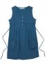 細絨纖維立體貼袋背心式洋裝 1
