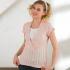 產後孕婦針織哺乳衣-夏天短袖上衣 2