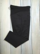 彈性羅紋修飾孕婦七分褲