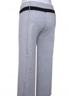 低腰剪接裝飾線七分孕婦褲