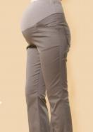 標準剪接造型美腿托腹長褲